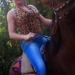 Ich reite nicht nur Pferde sondern auch Männer